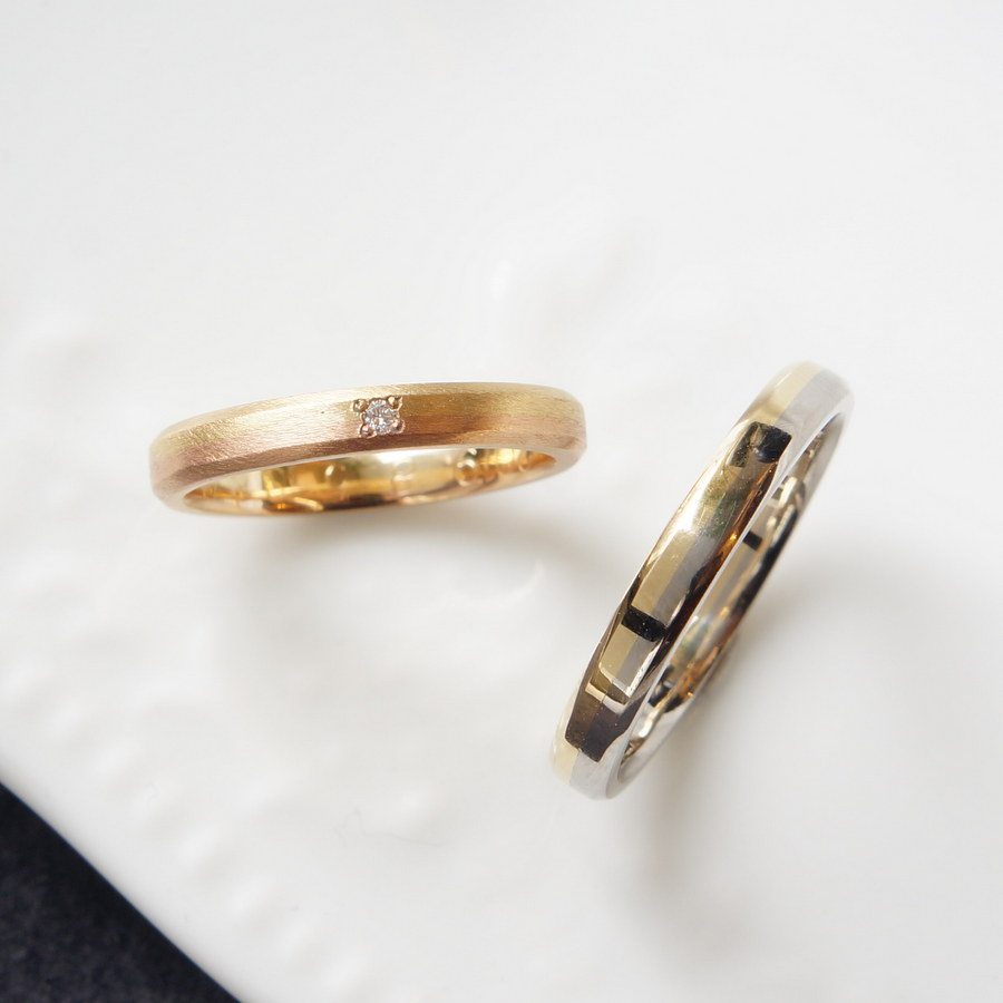 結婚指輪OLJEI Shinogi ring