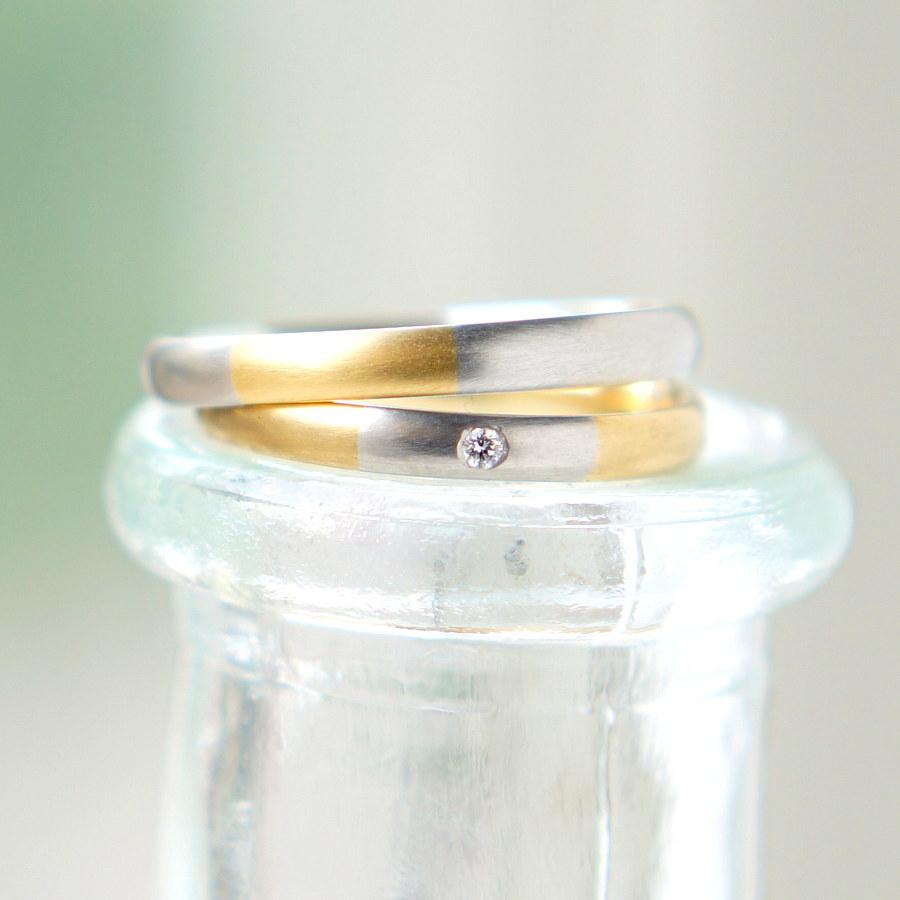 結婚指輪シャッフルリング -shuffle ring-