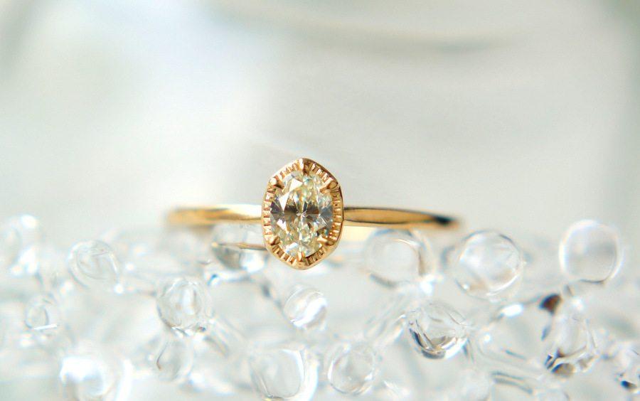 【栄店】tatsuo nagahataセミオーダーで作る婚約指輪