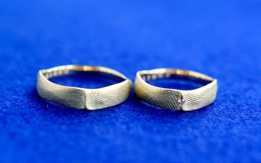 【栄】指輪に写す大切な模様