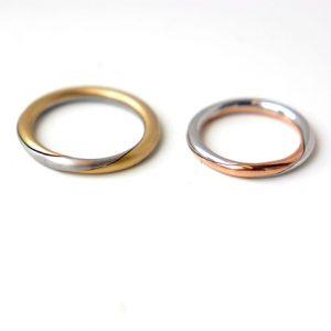 結婚指輪の一例